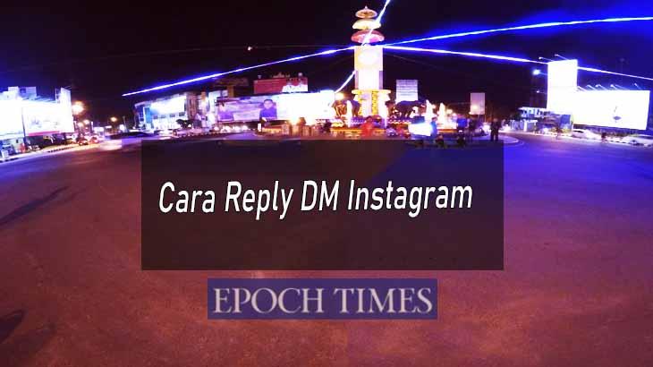 Cara Reply DM Instagram