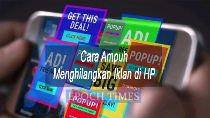 Cara Menghilangkan Iklan di HP
