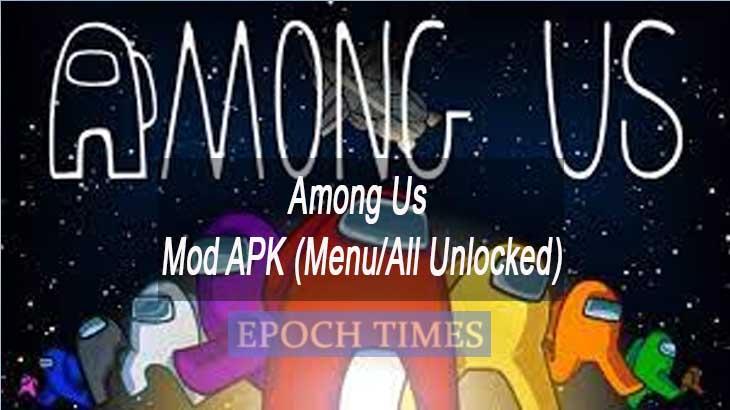 Download Among Us Mod APK Menu All Unlocked