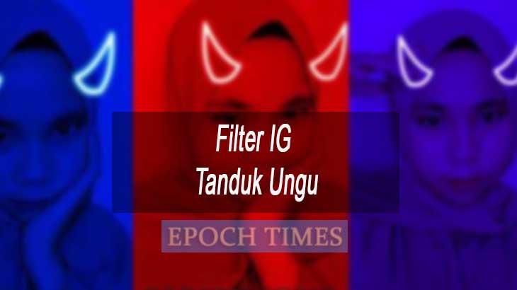 Filter IG Tanduk Ungu