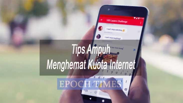 Tips Menghemat Kuota Internet